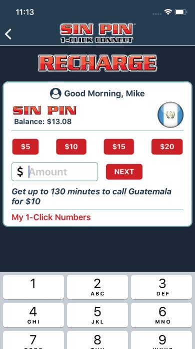 SIN PIN | International Calls | Recharge | SIN PIN keeps you